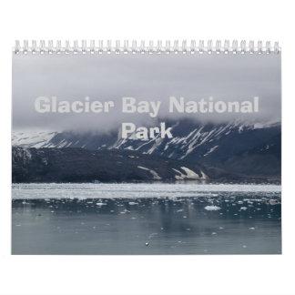 Parque nacional 2013 del Glacier Bay Calendario