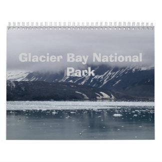Parque nacional 2015 del Glacier Bay Calendario