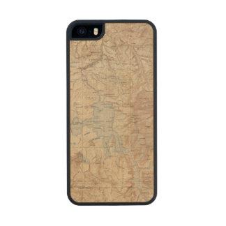 Parque nacional 2 2 de Yellowstone Funda De Arce Carved® Para iPhone 5
