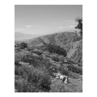 """Parque nacional 2 de la yuca de B&W Folleto 8.5"""" X 11"""""""