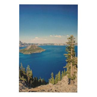 Parque nacional 2 de los E.E.U.U., Oregon, lago Cuadro De Madera