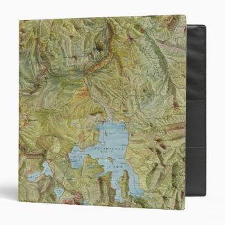 """Parque nacional 2 de Yellowstone Carpeta 1 1/2"""""""