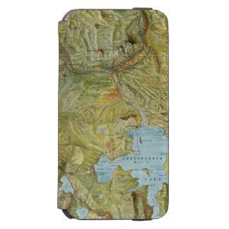 Parque nacional 2 de Yellowstone Funda Billetera Para iPhone 6 Watson