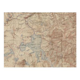 Parque nacional 2 de Yellowstone Tarjeta Postal