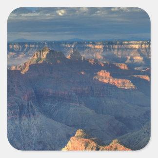 Parque nacional 2 del Gran Cañón Pegatina Cuadradas Personalizada