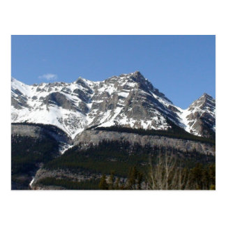 Parque nacional Alberta Canadá de Banff Tarjeta Postal