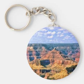 Parque nacional Arizona del Gran Cañón Llavero Redondo Tipo Pin