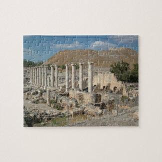 Parque nacional arqueológico de Beit Shean en Isra Rompecabezas Con Fotos