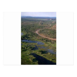 Parque nacional Australia occidental de Kakadu Tarjeta Postal