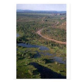 Parque nacional Australia occidental de Kakadu Postales