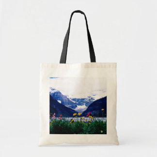 Parque nacional blanco de Banff, flores de Lake Lo Bolsa