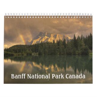 Parque nacional Canadá de Banff Calendarios De Pared