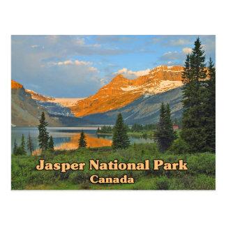 Parque nacional Canadá de jaspe Postal