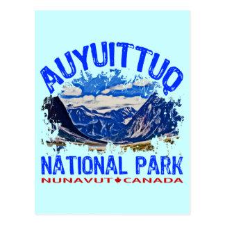 Parque nacional de Auyuittuq Nunavut Canadá Tarjeta Postal
