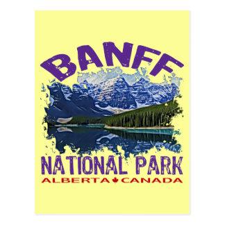 Parque nacional de Banff, Alberta Canadá Postal