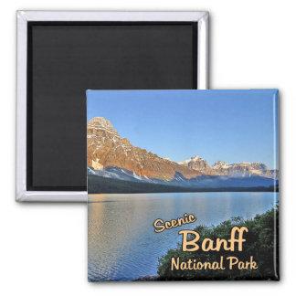 Parque nacional de Banff Imán Cuadrado