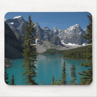 Parque nacional de Banff lago moraine Tapetes De Ratón