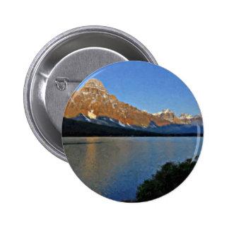 Parque nacional de Banff Pin Redondo De 2 Pulgadas