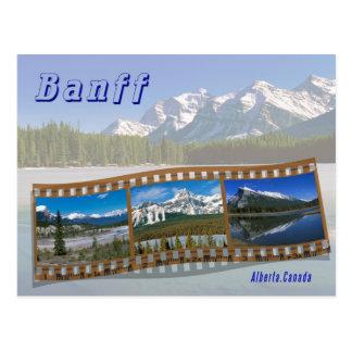Parque nacional de Banff Tarjeta Postal