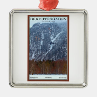 Parque nacional de Berchtesgaden - invierno Ornamentos De Navidad