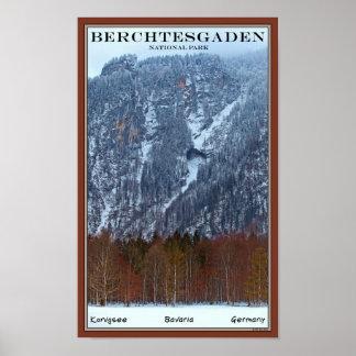 Parque nacional de Berchtesgaden - invierno Posters