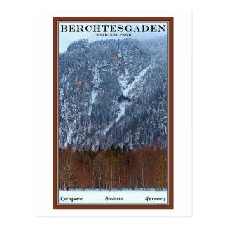 Parque nacional de Berchtesgaden - invierno Postal