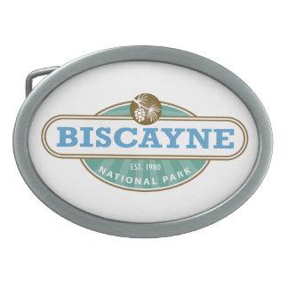Parque nacional de Biscayne Hebilla Cinturón Oval