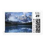Parque nacional de Canadá, Alberta, Banff, lago Estampillas
