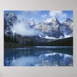 Parque nacional de Canadá, Alberta, Banff, lago Poster