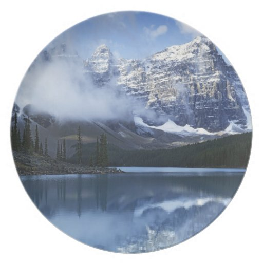 Parque nacional de Canadá, Alberta, Banff, lago Plato Para Fiesta