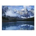 Parque nacional de Canadá, Alberta, Banff, lago Postales