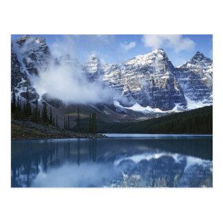 Parque nacional de Canadá Alberta Banff lago Tarjeta Postal