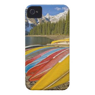 Parque nacional de Canadá, Alberta, Banff, moraine Carcasa Para iPhone 4 De Case-Mate