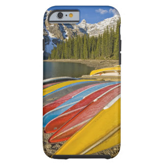 Parque nacional de Canadá, Alberta, Banff, moraine Funda Resistente iPhone 6
