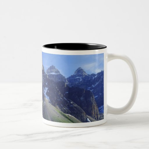 Parque nacional de Canadá, Alberta, Banff, moraine Tazas