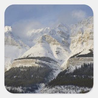 Parque nacional de Canadá, Alberta, Banff. Vista a Pegatina Cuadrada