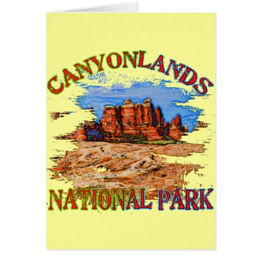 Parque nacional de Canyonlands Felicitación