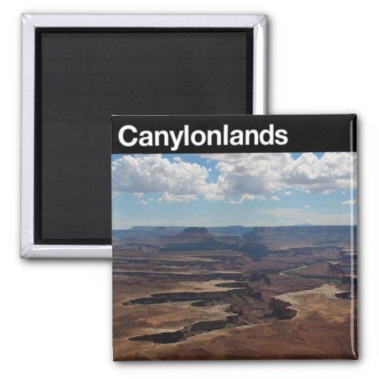 Parque nacional de Canyonlands Imán Cuadrado