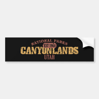 Parque nacional de Canyonlands Pegatina Para Auto
