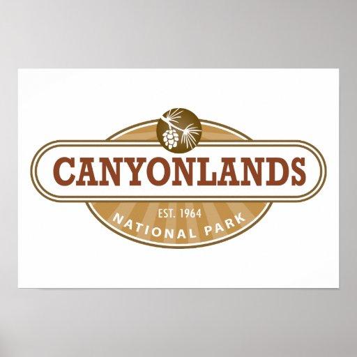 Parque nacional de Canyonlands Póster