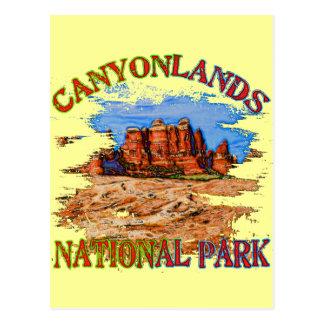 Parque nacional de Canyonlands Postal