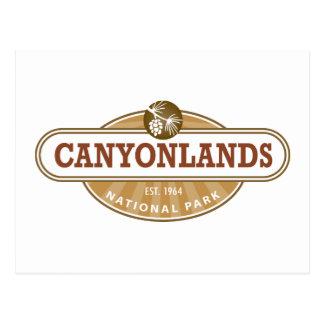 Parque nacional de Canyonlands Tarjetas Postales