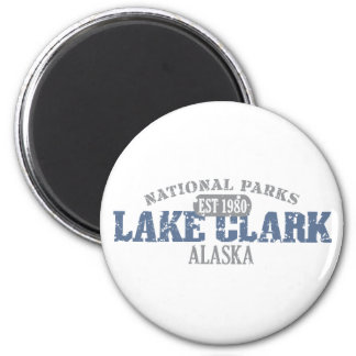 Parque nacional de Clark del lago Imán De Nevera
