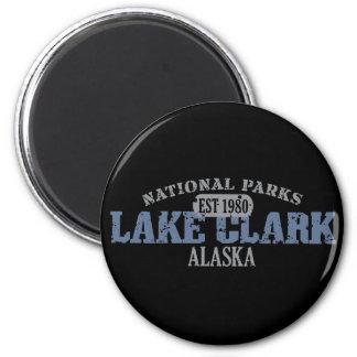 Parque nacional de Clark del lago Imanes De Nevera