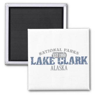 Parque nacional de Clark del lago Iman De Frigorífico