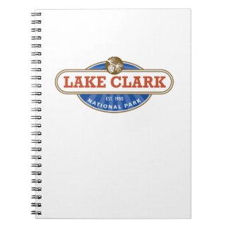 Parque nacional de Clark del lago Libretas