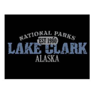 Parque nacional de Clark del lago Tarjetas Postales