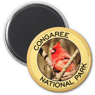 Parque nacional de Congaree Imán Redondo 5 Cm
