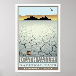 Parque nacional de Death Valley 3 Póster