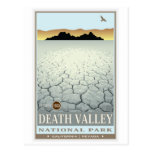 Parque nacional de Death Valley 3 Tarjetas Postales